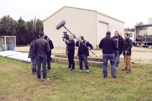Copyright : Camille ESCOFFIER/ CEA Equipe du LESA en tournage