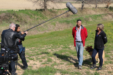 Copyright : Daniel Garcia/CEA <br /> Le volet filmique du projet servira de support pédagogique pour l'implantation de nouveaux usages dans les communautés agricoles.