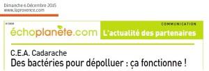 Extrait la Provence 06 12 2015