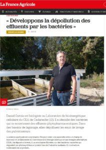 Extrait - La France agricole - 26 novembre 2016