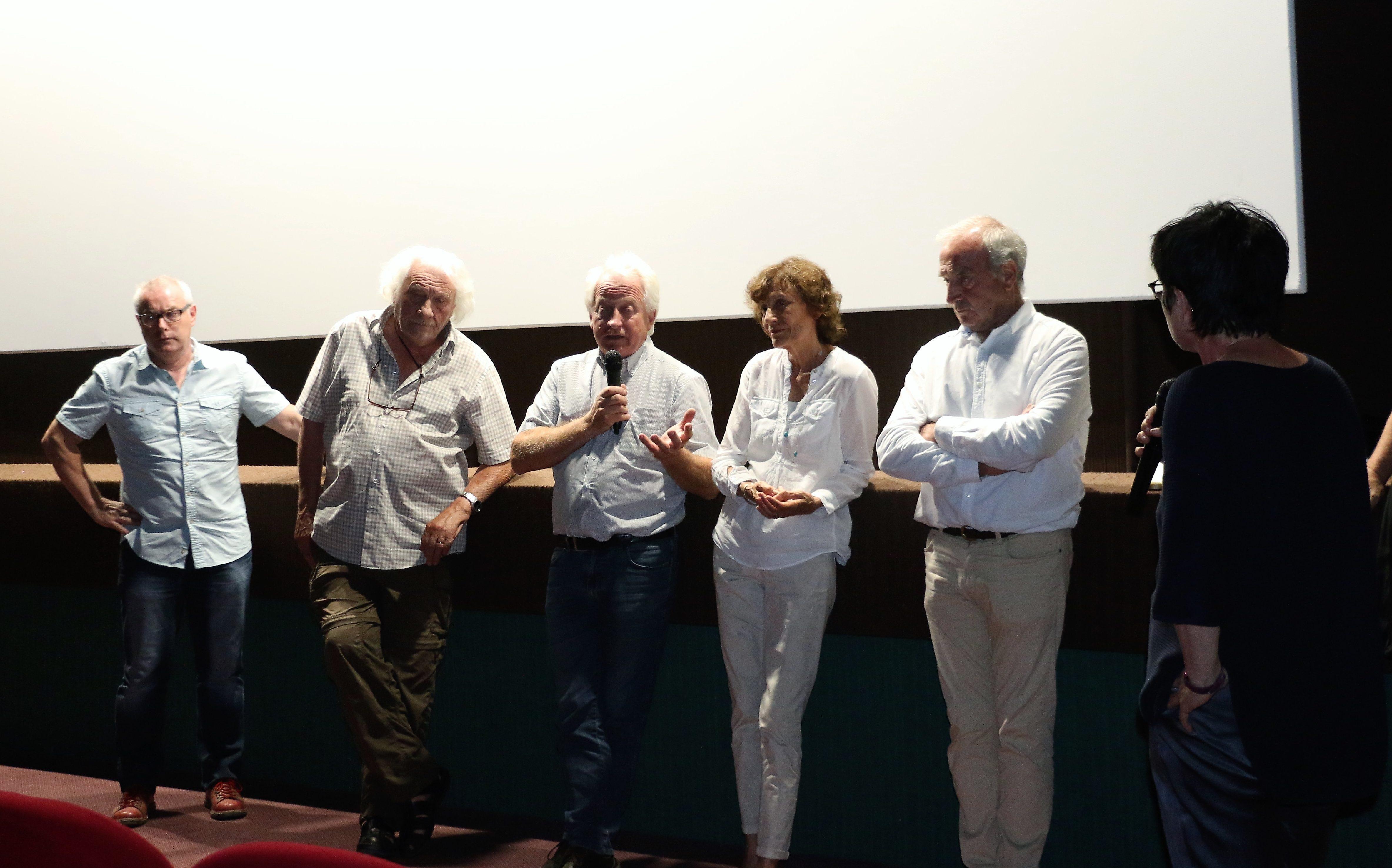 Aline RICHARD interviewe le réalisateur et les acteurs du film.